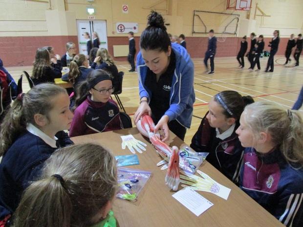 School visit - Eugenia
